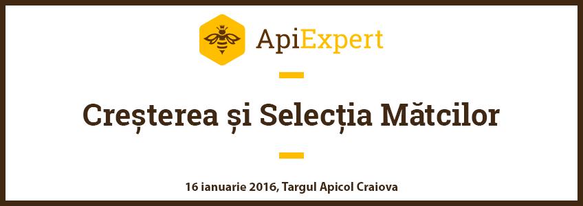 Presentación Crianza y Selección de las Abejas Reinas, Feria Apícola Craiova [16 de enero de 2016]