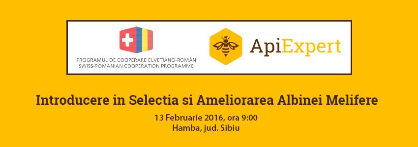 Presentación ApiExpert: Introducción en la Selección y el Mejoramiento de la Abeja melífera [el 13 de febrero de 2016]